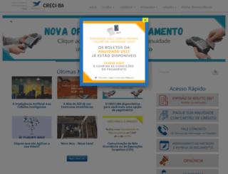 creciba.org.br screenshot