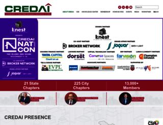 credai.org screenshot