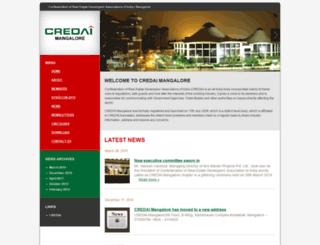 credaimangalore.com screenshot