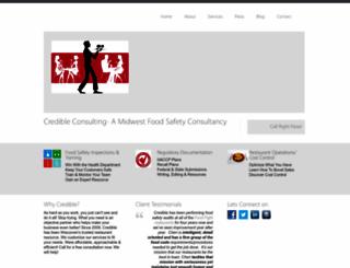 credconsulting.com screenshot