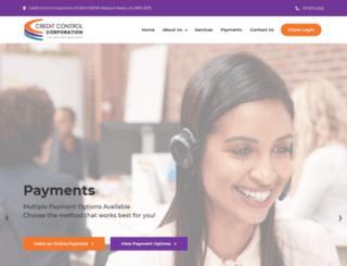 credcontrolonline.com screenshot