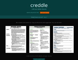 creddle.io screenshot