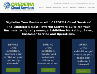 credema.eu screenshot