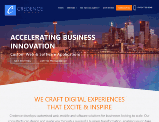 credencedigital.com screenshot