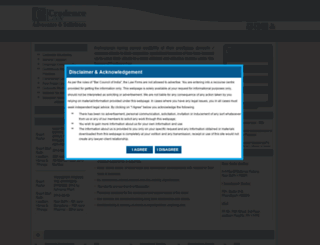 credencelaw.co.in screenshot