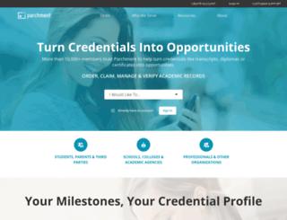 credentialssolutions.net screenshot