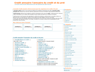 credit-annuaire.com screenshot