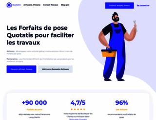 credit-impot.quotatis.fr screenshot