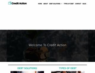 creditaction.org.uk screenshot