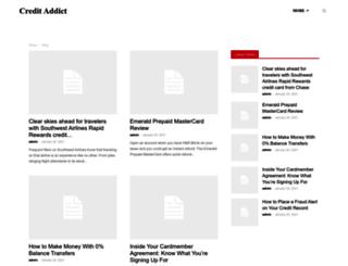 creditaddict.com screenshot