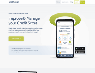 creditangel.co.uk screenshot