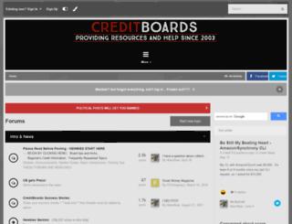 creditboards.com screenshot