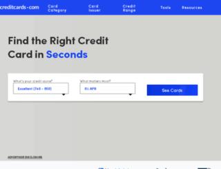 creditcard.com screenshot