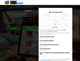 creditcardchest.com screenshot