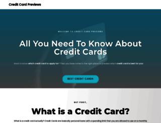 creditcardpreviews.com screenshot
