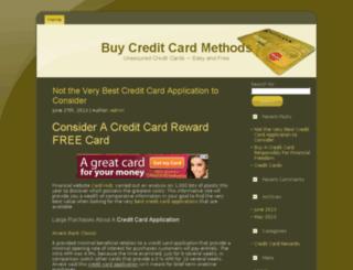 creditcardreward4u.com screenshot