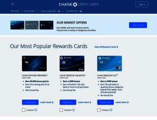 creditcards.chase.com screenshot
