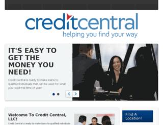 creditcentralinc.com screenshot