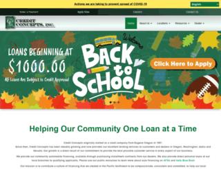 creditconcepts.com screenshot
