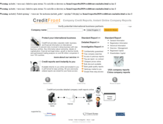 creditfront.com screenshot