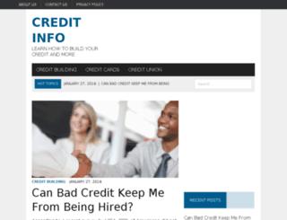 creditinfoforu.com screenshot