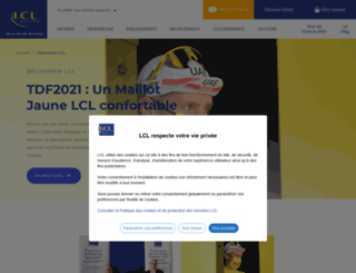creditlyonnais.fr screenshot