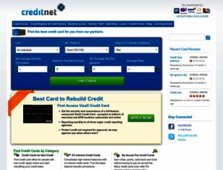 creditnet.com screenshot