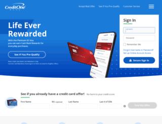 creditonestyle.com screenshot