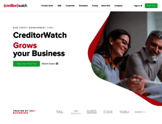 creditorwatch.com.au screenshot