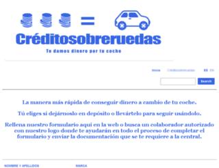 creditosobreruedas.com screenshot