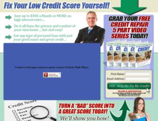 creditrepair.moneytohealth.com screenshot