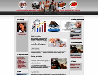 credits-immobilier-assurance.com screenshot