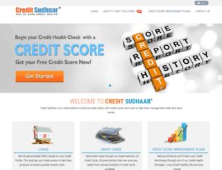 creditsudhaarfinance.com screenshot