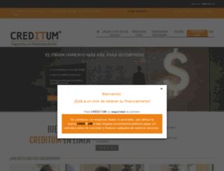 creditum.com.mx screenshot
