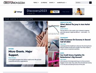 creditunions.com screenshot