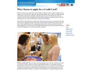 creditwish.com screenshot