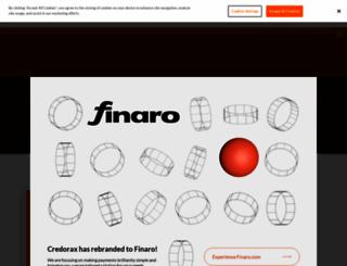 credorax.com screenshot