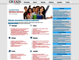 creeaza.com screenshot