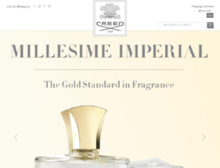 creedperfumes.us screenshot