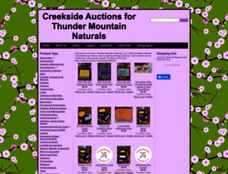 creeksideauctions.com screenshot