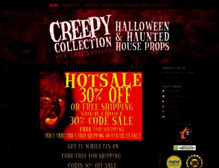 creepycollection.com screenshot