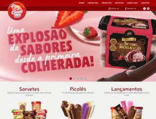 crememel.com.br screenshot