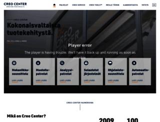 creocenter.fi screenshot