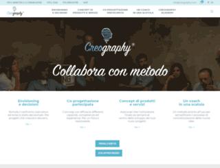 creography.com screenshot