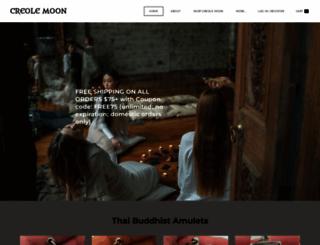 creolemoon.com screenshot