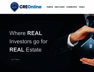 creonline.com screenshot