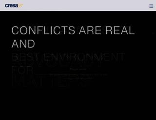 cresa.com screenshot