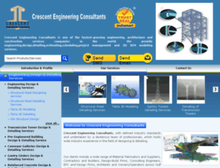 crescentengineeringconsultants.com screenshot