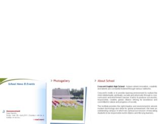 crescentenglishschool.com screenshot