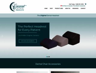 crescentproducts.com screenshot